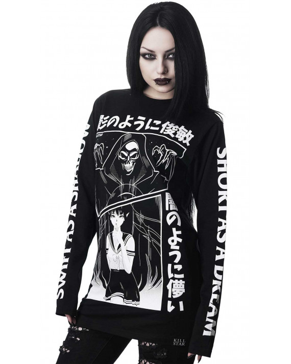 Killstar Shadow Long Sleeve Top