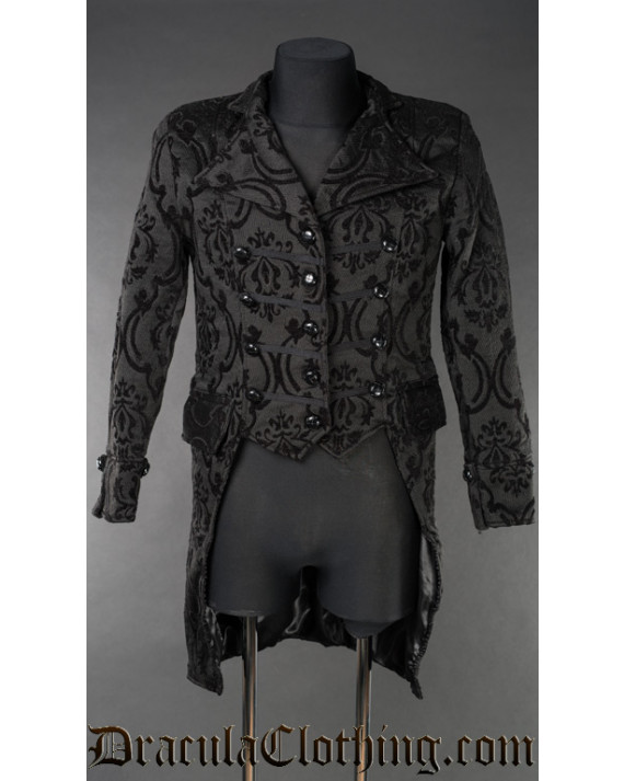 Triple Buttoned Tailcoat