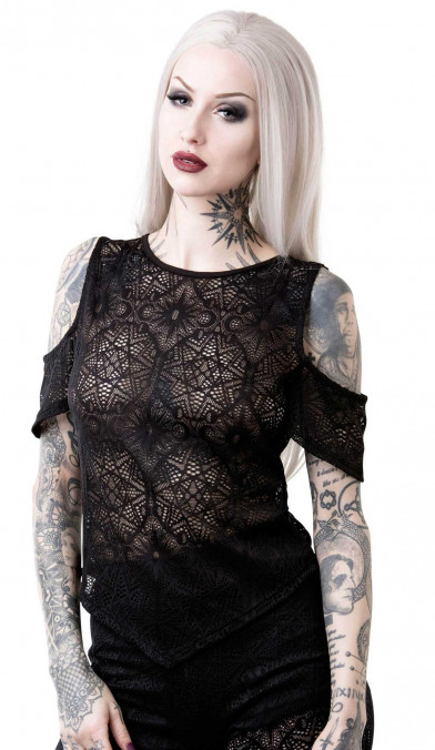 Killstar Astral Lace Top