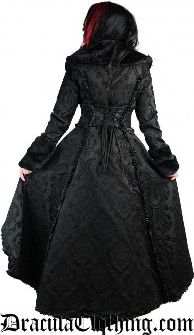 Black Evil Queen Coat