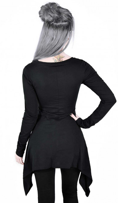 Killstar Cora Long Sleeve Top