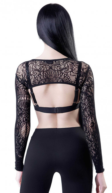 Killstar Eris Lace Bolero