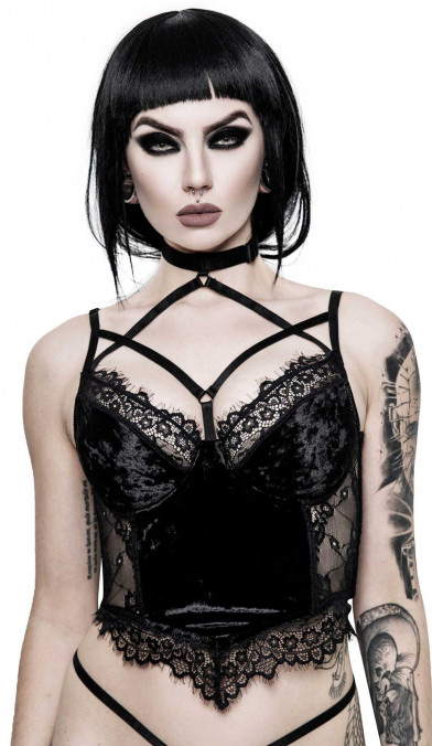 Killstar Ever Ayla Lace Bralet
