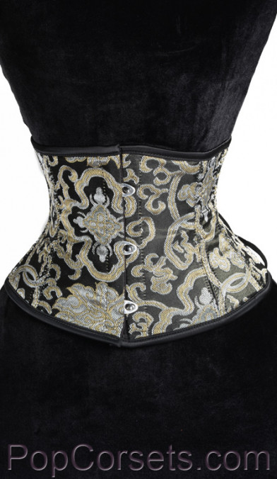 Gold Brocade Waist Cincher