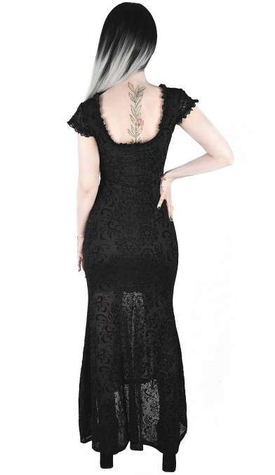 Killstar Haunt Me Maxi Dress