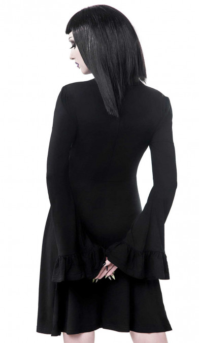 Killstar Sabrina Ruffle Dress