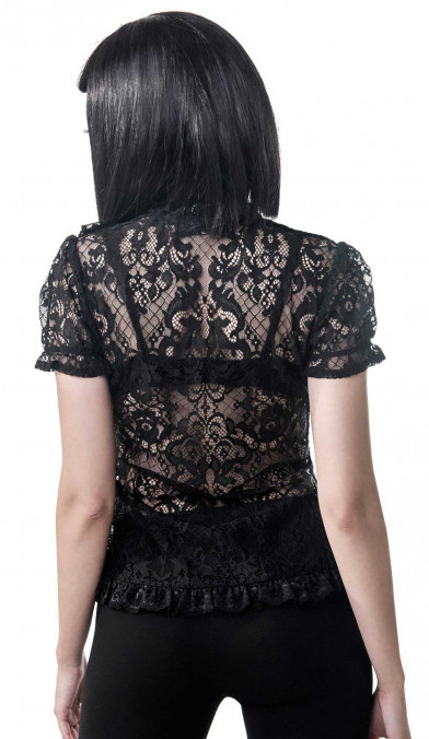 Killstar Sasha Lace Blouse