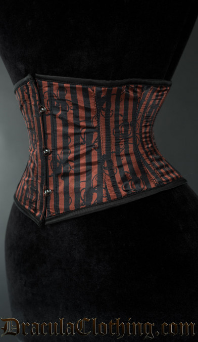 Striped Octopus Waist Cincher