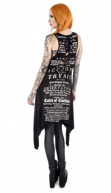 Killstar Tryals Cast-Out Vest Top
