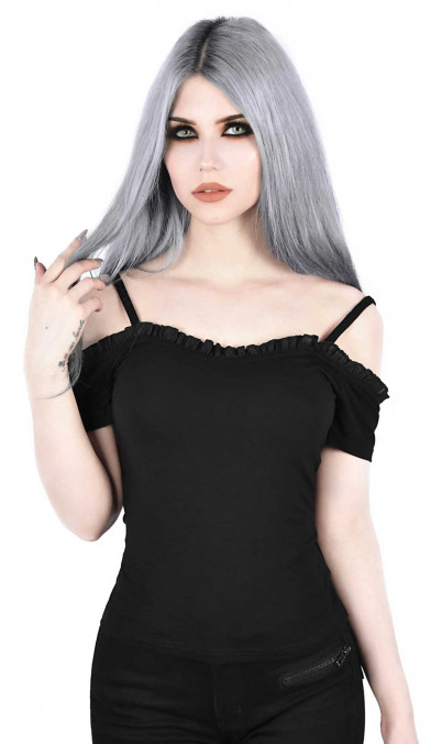 Killstar Ylva Bardot Top