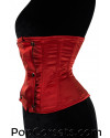Red Panel Corset