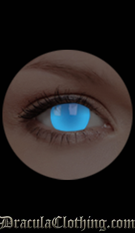 Electric Blue 1 Year Contact Lenses