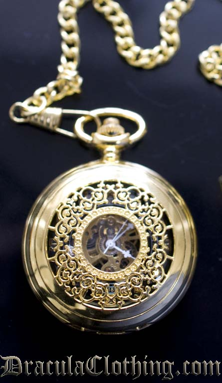 Gold Colored Pocket Watch