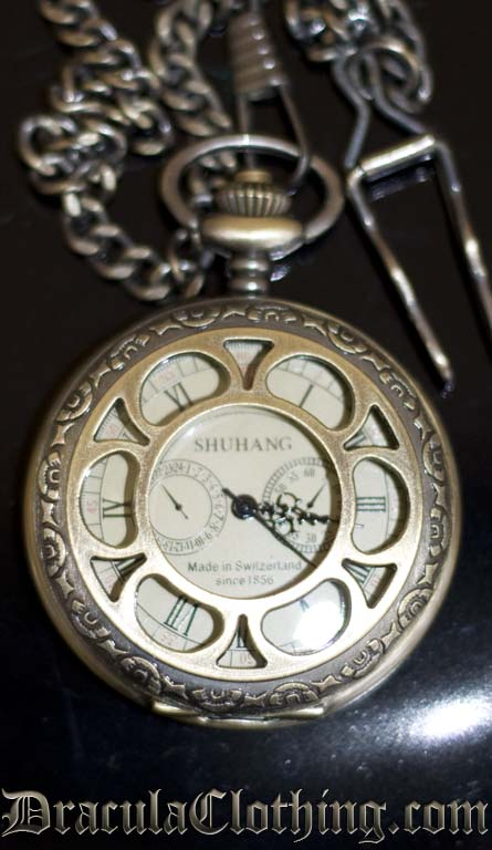 Retro Mechanical Pocket Watch
