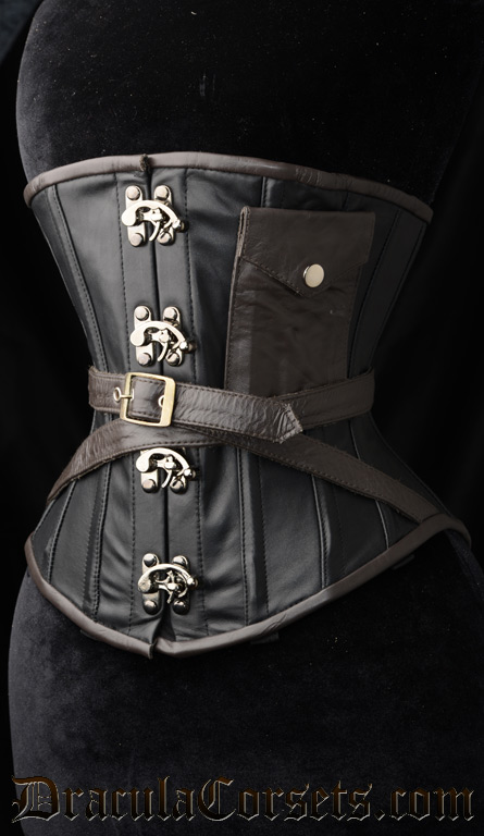 Steampunk Pocket Clasp Corset